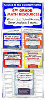Common Core Math Worksheets 84 Best 6th Grade Math Images On Pinterest Teaching Ideas