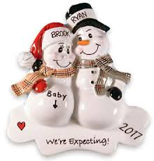 pregnancy expecting tree ornaments