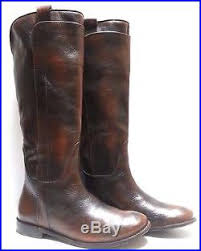 womens brown leather boots size 9 frye boots leather brown 76533 s size