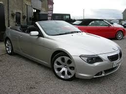 bmw 6 series for sale uk used bmw 6 series 2005 petrol 645ci 2dr convertible silver
