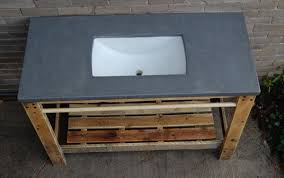 Diy Bathroom Vanity Cabinet Diy Pallet Bathroom Vanity Pallet Furniture Diy Bathroom Vanity