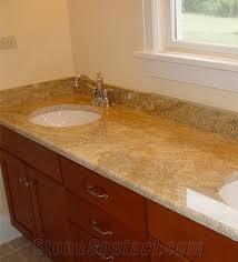 india imperial gold dust granite custom vanity tops new imperial
