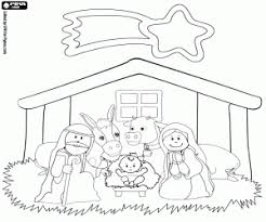 jesus in the manger coloring page material for your nativity scene coloring pages printable games