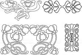 Art Deco Design Elements Art Deco Design Elements 2 Stock Vector Art 165028289 Istock