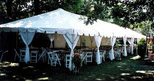 party tent rentals prices white tent rentals for weddings williams