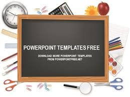 chalkboard powerpoint template free download professional powerpoint
