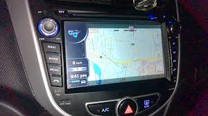 radio multimedia hyundai accent youtube