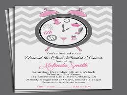 around the clock bridal shower free printable bridal shower invitation templates tags
