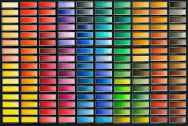 Colour Classic Watercolours Colour Chart Old Holland Classic Colours