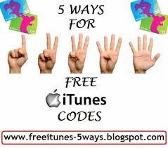 get an itunes gift card 5 ways to get free itunes codes