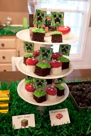 minecraft birthday party diy minecraft birthday party craft ideas party favors printables