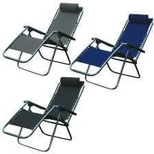 Zero Gravity Outdoor Chair Zero Gravity Folding Reclining Sun Lounger Textoline Garden Chairs