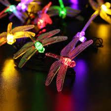 halloween solar string lights 19 6ft 30 led decorative lighting