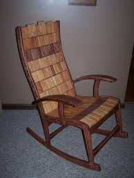 Rocking Chair Makers Custom And Block Rocking Chair By Darin Caldwell Custommade Com