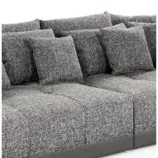 grand canapé droit grand canapé droit byouty gris foncé 4 places achat vente