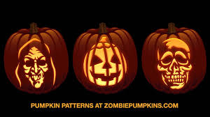 Zombie Pumpkin Stencil by Halloween 3 Silver Shamrock Commercial Pumpkin Patterns Youtube
