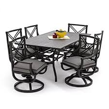 Lakeview Patio Furniture by Amazon Com Lakeview Outdoor Designs Audubon 6 Person Patio Dining