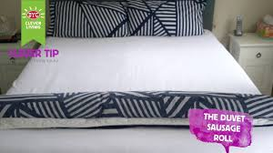 The Duvet And Pillow Company Duvet Sausage Roll Youtube