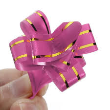 pull ribbon 10pcs pull bow ribbons gift wrap wedding car decoration ribbon