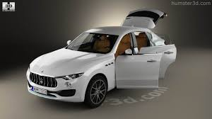 maserati levante interior 360 view of maserati levante with hq interior 2017 3d model