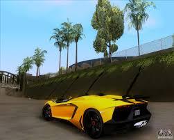 Lamborghini Aventador J Blue - lamborghini aventador j tt black revel for gta san andreas