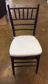 mahogany chiavari chair mahogany chiavari wedding chair rental iowa city cr qc ia