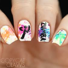 Music Nail Art Design Copycat Claws The Digit Al Dozen Does Get To Know Me Zumba Nails