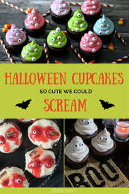 we will take one of each of these halloween cupcakes please and