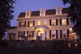 colonial house outdoor lighting green hotels association members share ideas