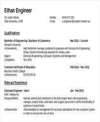 Engineering Graduate Resume Sample by 47 Engineering Resume Samples Free U0026 Premium Templates