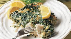 cuisine florentine fish florentine recipe tablespoon com