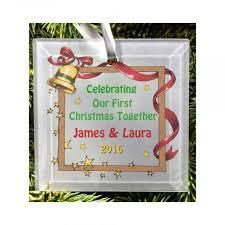 personalised christmas tree decoration christmas tree wedding