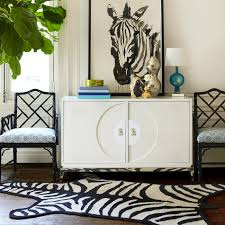Sculptured Rugs And Carpets Zebra Peruvian Llama Flat Weave Rug Modern Rugs Jonathan Adler