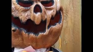 deady teddy spirit halloween pumpkin greeter halloween haunted house prop youtube