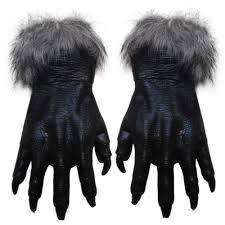 Halloween Supplies New 1 Pair Halloween Wolf Gloves Coss Play Latex Gloves Halloween