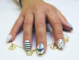 how to create nautical nails bio sculpture gb