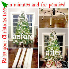 how to raise your tree simple and inexpensive
