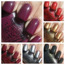 the polishaholic opi holiday 2012 skyfall collection swatches