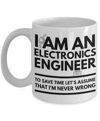 Funny Coffee Mugs Electronics Engineer Mug Funny Electronics Engineer Coffee Mug