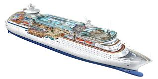 royal caribbean cruise line illustrations on behance
