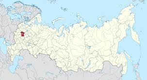 moscow map world moscow oblast