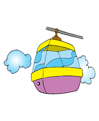 cable cars coloring pages kids color print