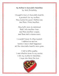 literacy minute valentine poem printable