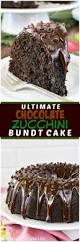 ultimate chocolate zucchini bundt cake inside brucrew life