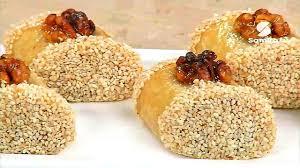 cuisine alg駻ienne gateaux recettes gâteau malfouf ou malfoufa recette facile la cuisine