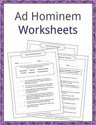 Flag Day Reading Comprehension Worksheets Ad Hominem Examples And Worksheets Kidskonnect