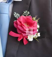 Rose Boutonniere Wedding Flowers Wedding Best Man Rose Boutonniere Branches Mix