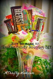 How To Make A Candy Bouquet Easter Ideas