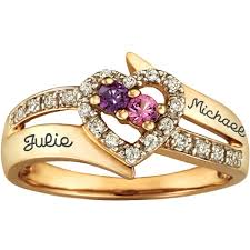 Personalized Wedding Band Wedding Rings Personalized Engraved Rings Gold Custom Name Rings
