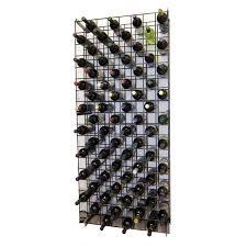 wine cellar innovations ml152 wc black metal lattice rack the mine
